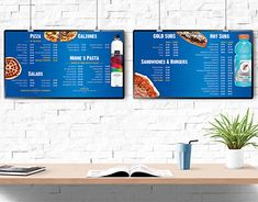 """Check out new work on my @Behance portfolio: """"Menu Board Design Miones Pizza"""" http://be.net/gallery/59492777/Menu-Board-Design-Miones-Pizza"""