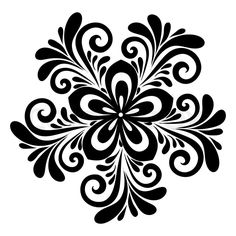 Illustration Of Beautiful Floral Pattern A Design Element In The Old Style Vector Art Clipart And Stock Vectors