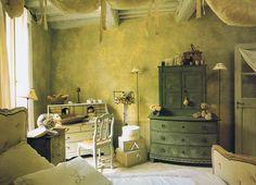 decor, verandas, beds, dream, green, 19th century, ceilings, bedrooms, people