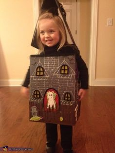 Beth: Sarah Elizabeth is nearly three years old and insisted she wanted to be, as she called it, a House Halloween for Halloween this year. So, I found an image of...