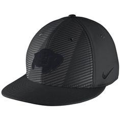 CU Buffalo Nike Football Hat  25.00 Football Caps b71cc4b40df66