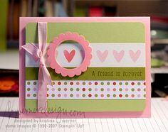 cute. pink & green colors work well with colorful bottom border