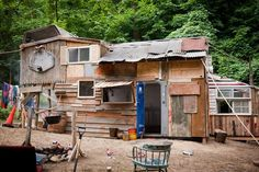 """The shack in """"Kings Of Summer."""""""