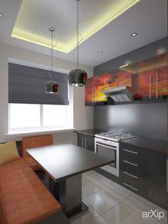 Кухня: интерьер, квартира, дом, кухня, минимализм, 10 - 20 м2 #interiordesign #apartment #house #kitchen #cuisine #table #cookroom #minimalism #10_20m2 arXip.com