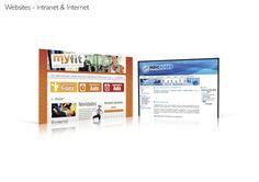 Layouts de website (marca Myfit fornecida pelo cliente).
