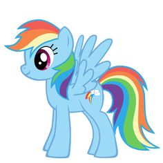 rainbow dash template - Google Search