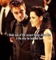 """""""What was the most profound thing a man has ever told you?"""" Kristen: """"I'll wait for you because I don't want anybody else."""""""