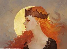 Beautiful Illustration of Sansa Stark... | Game of Thrones Fan Art