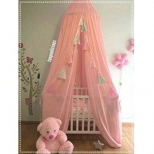 pink canopy Canopies, Toddler Bed, Pink, Furniture, Home Decor, Child Bed, Decoration Home, Room Decor, Home Furnishings
