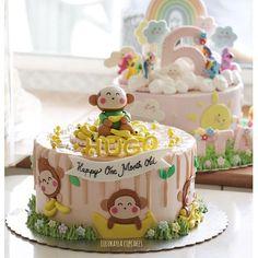 #cake #cakeshop #cakes #cakejakarta #cupcake #cupcakejakarta #cafejakarta #lulukaylacupcake #kuejakarta #kueultah #kue #birthdaycake #JKTINFOOD #JKTFOODIES #buttercreamcake #customcake #customcakejakarta #flowercake #anakjajan #weddingcake #bridalshower #monkey