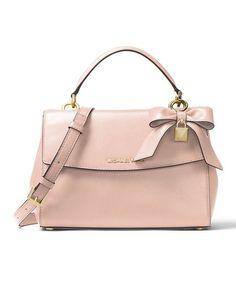 f07704271da2 Michael Kors Soft Pink Ava Leather Satchel. MaroquinerieMainsSac ...