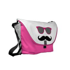 Shop Funny Pink Sunglasses with Mustache Messenger Bag created by MovieFun. Personalize it with photos & text or purchase as is! Pink Sunglasses, Pack Your Bags, Messenger Bag Men, Everything Pink, Cute Bags, Girls Be Like, Beautiful Bags, Mustache, Sexy High Heels