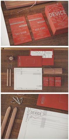 Creative Device Collaborative Identity | #stationary #corporate #design #corporatedesign #identity #branding #marketing < repinned by www.BlickeDeeler.de | Take a look at www.LogoGestaltung-Hamburg.de