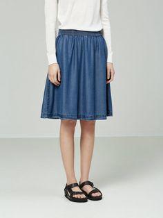 Lyocell - skirt | BESTSELLER.com