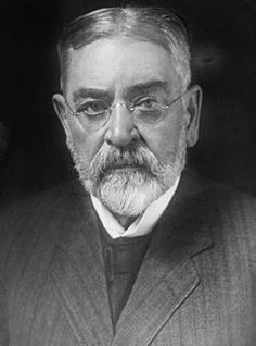 Robert Todd Lincoln, son of Abraham and Mary Todd Lincoln. He was an American lawyer and Secretary of War from 1881-1885.