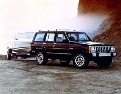 ,Cherokee Pioneer , Best , Scariest, Jeep EVER Made, CHROME BUMPERS and the DEATH WOBBLE. NEEDS a New Track Bar EVERY YEAR..love them, Flat Roof no Head Space in the Back Seat.A set back?Some!.DRIVE THIS When you are Second, this jeep will not start if you are UPSET , ANGRY? Mood Regulated!