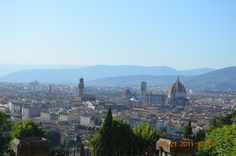 View of Florence, Italy from Basilica of San Miniato Al Monte, . . . been there