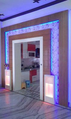 House Ceiling Design, Ceiling Design Living Room, Bedroom False Ceiling Design, Duplex House Design, Kitchen Room Design, House Front Design, Home Room Design, Living Room Partition Design, Pooja Room Door Design