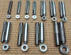Бесплатная Доставка Ушко Удар Умирает Набор Инструментов для Leather Craft Одежда Люверс Баннер-4 мм-20 мм