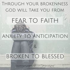 You Need God's Fierce Love When You are Broken…