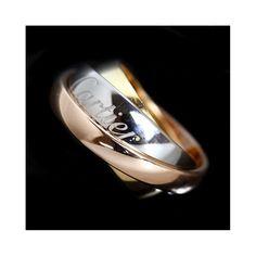 0cfadc6698b9d Cartier Trinity Must Essence Ring B4045953 K18 Three Colors 53 #cartier  #cartierjewelry Cartier Jewelry