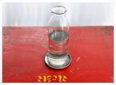 Carafe 'Tapti' en verre recyclé Nkuku