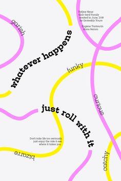 Whatever Happens Just Roll With It — Tatline Neue Slab Serif