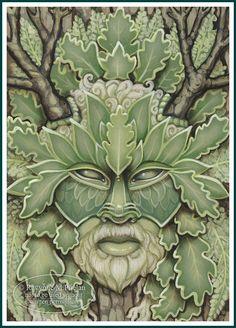 Ravynne M. Phelan's Green Man