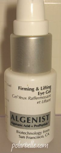 Algenist Firming and Lifting Eye Gel - click for review