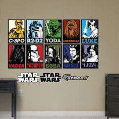 Amazon.com - Fathead Star Wars Portraits Collection Real Decals -