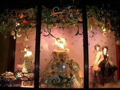christmas window displays | London Christmas Window Displays This is official blog page of Otel ...