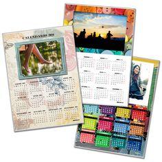 Calendario encapsulado multicolor dpbook