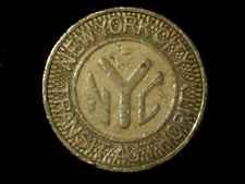 New York City Transit Authority Good For One Fare Bus Subway Token NY630AT