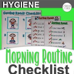 Morning Routine for School Help your students with their morning routine for school with this morning routine for school checklist! Teach students to live their best morning and never be late for school. morning-routine-for-school Morning Routine Checklist, School Checklist, Teaching Special Education, Teaching Social Skills, Teaching Ideas, Late For School, Vocational Skills, We Are Teachers, Life Skills Classroom