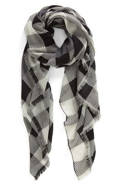 rag+&+bone+Buffalo+Check+Scarf+available+at+#Nordstrom
