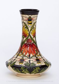 Moorcroft Pottery Limited & Numbered Editions available from The Sissons Gallery Hand Painted Pottery, Pottery Painting, Ceramic Pottery, Pottery Art, Ceramic Art, Art Nouveau, English Country Style, Beginner Painting, Vintage Pottery