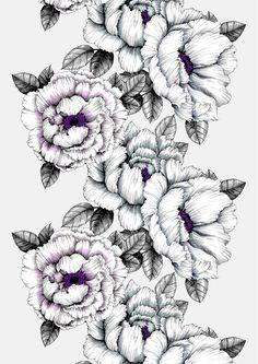 Alma, grey, lila, design by Tanja Orsjoki