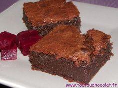 Une recette de #fondant à la #betterave rouge et aux #chocolats - Je vous conseille de tester, vous allez fondre ! #toutauchocolat