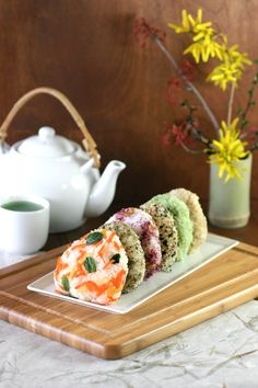 Vegan Onigiri, Six Ways -- These whimsical Japanese rice triangles can be flavored with a multitude of ingredients and make a great packed lunch or bring-along for a springtime picnic.