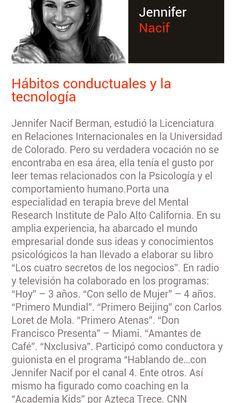 Una gran Ponente 2014 que trae una charla bastante interesante para todos nosotros. No te la pierdas en 1ro de Marzo  TEDx la trae a Guadalajara para todos nosotros.