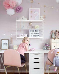 Teenage girl bedrooms white desk for teenage girl bedroom white teen desk best girl desk ideas Desk For Girls Room, Teen Girl Desk, Girls Desk Chair, Desks For Girls, Kid Desk, Girl Kids Room, Room Mom, Child Room, Teenage Girl Bedrooms