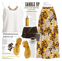 """29.07.15 / 3"" by theblondemacaroon ❤ liked on Polyvore featuring MSGM, Accessorize, Tom Ford, Moroccanoil and saddleup"