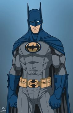 """This is a recolor of the """"Justice League Batman"""" phil-cho did for Earth-27's Batman. This is meant to be an approximation of what his suit would have looked like in the aftermath of Babs' crippling... Gotham City, Marvel Dc Comics, Marvel Vs, Batman Batman, Batman Suit, Batman Dark, Batman The Dark Knight, Batman Robin, Superman"""