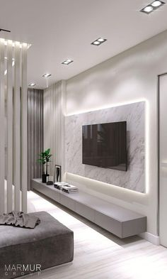 Beautiful Living Rooms, Living Room Modern, Living Room Interior, Home Living Room, Small Living, Bedroom Modern, Contemporary Bedroom, Modern Closet, White Bedrooms