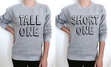Tall One Short One Jumper Sweater Best Friend's Matching Besties BFF's BFF Gifts