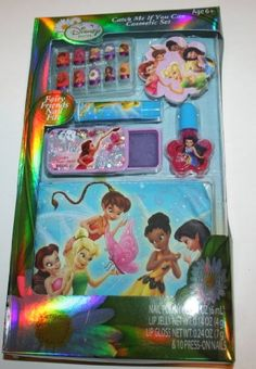 Disney Tinkerbell and the Great Fairy Rescue Catch Me If You Can Cosmetic Set >>> More info could be found at the image url.