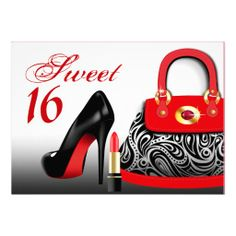 >>>Cheap Price Guarantee Posh Purse, High Heels and Lipstick Sweet Sixteen Custom Invites Posh Purse, High Heels and Lipstick Sweet Sixteen Custom Invites so please read the important details before your purchasing anyway here is the best buyReview Posh Purse, Hi...Cleck Hot Deals >>> http://www.zazzle.com/posh_purse_high_heels_and_lipstick_sweet_sixteen_invitation-161920511373639642?rf=238627982471231924&zbar=1&tc=terrest