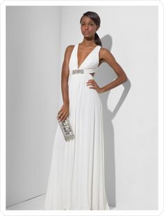 Formal event...love classic white gowns