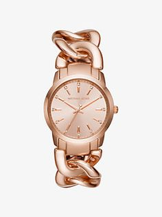 82f4fe72c0f3 Audrina Blush Acetate and Rose Gold-Tone Watch by Michael Kors ...