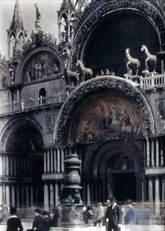 St. Mark's Cathedral, Venice, 1925